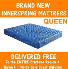 DELIVERED FREE New QUEEN Size Spring Mattress - Great Quality New Farm Brisbane North East Preview