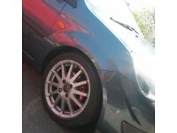 """4x108 16"""" Fiesta ZS wheels and Tyres"""