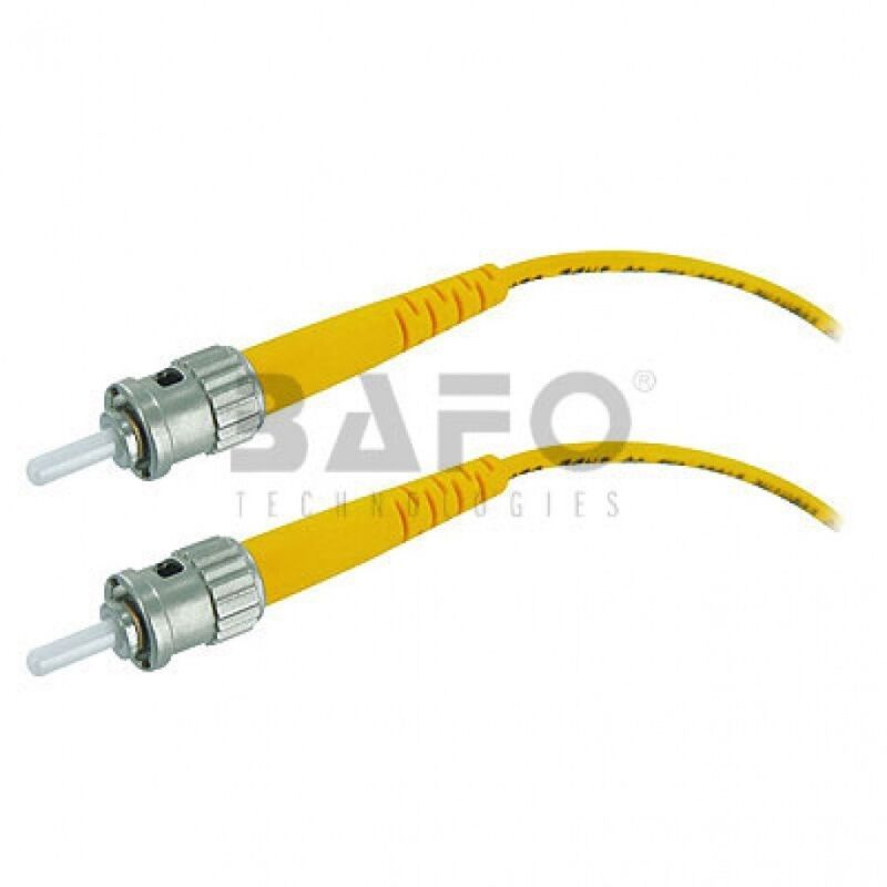 New 12137-10M 10M SC to ST Singlemode 3mm 9//125 DPX Fiber Optic Cable