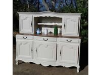 FRENCH DRESSER / SIDEBOARD.