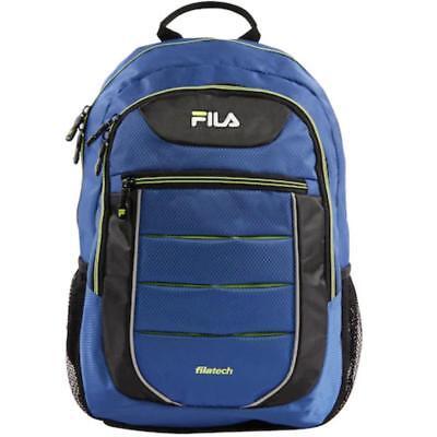 FILA NWT Argus 2 II Mesh Backpack FL-BP-1475-BLNE Blue Neon Black filatech Bp Mesh Backpack