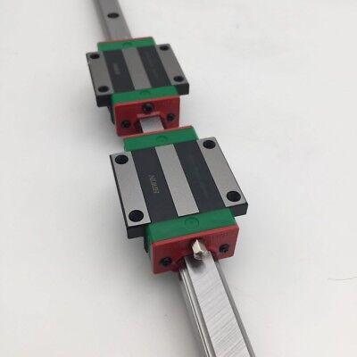 Hiwin Hgr15 Linear Rail Guide With Hgh15ca Hgw15cc Rail Block Slider Cnc Router