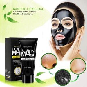 Masque facial noir nettoyant, purifiant
