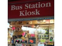 Newsagent and mobile sales and repair shop/kiosk for sale **Otley Bus Station**