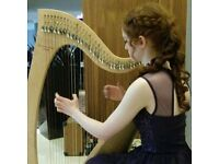 Harp, Piano and Music Theory Tutor