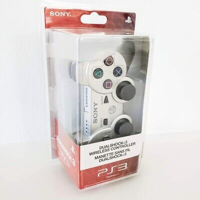 SONY DUALSHOCK 3 WIRELESS PS3 CONTROLLER SILVER - BRAND NEW, SEALED!