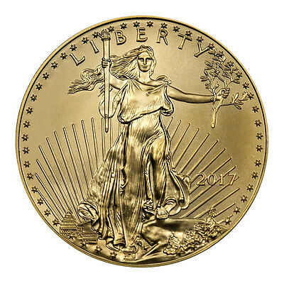 2017 $10 1/4 Troy oz. American Gold Eagle Coin SKU44734