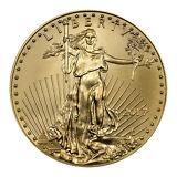 2017 $5 1/10 Troy oz. American Gold Eagle Coin SKU44733