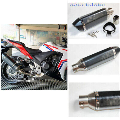 51MM RACING UNIVERSAL MOTORBIKES EXHAUST MUFFLER PIPE FOR SCOOTER STRE