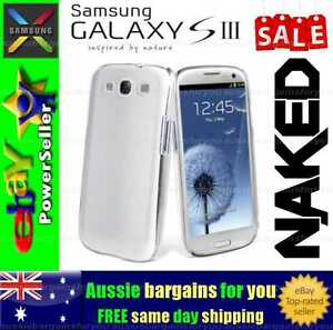 Samsung Galaxy S III S3 Clear Soft Gel TPU flexible clear fitted case cover skin