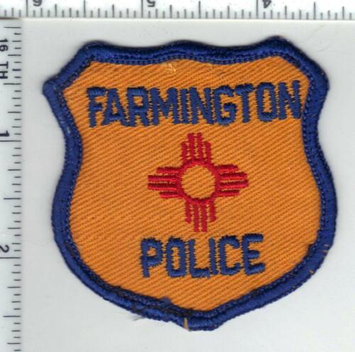 Farmington Police New Mexico) 1st Issue Uniform Takeoff Patch 1960