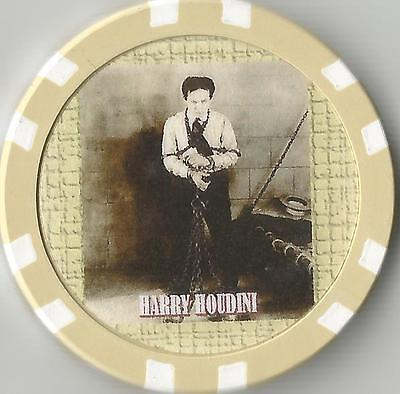 HARRY HOUDINI  MASTER MAGICIAN  COLLECTOR CHIP