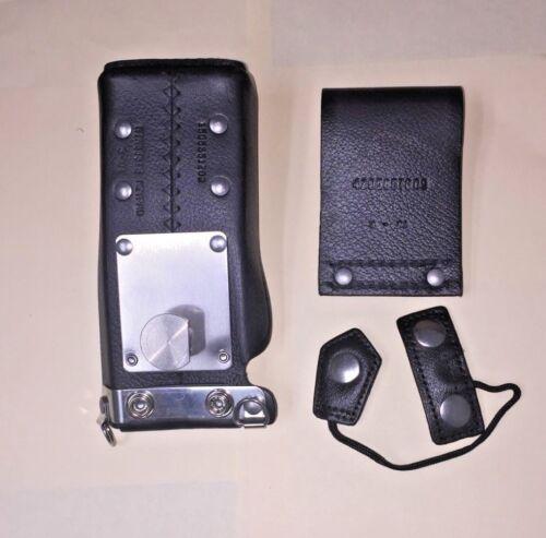 Motorola NTN8381B Leather Radio Carry Case , NEW