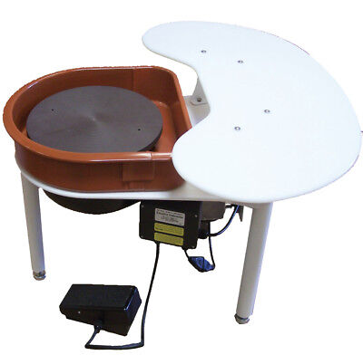 Speedball Boss Elite Pottery Wheel with Utility Shelf