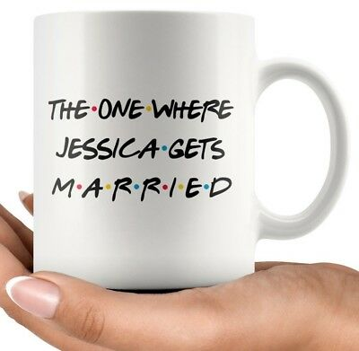 Personalized Wedding gift For Women, Marriage Gift, Just Married Coffee - Personalized Cups For Wedding