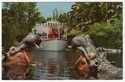 Vintage Disneyland Postcard: Jungle Cruise (Ref. 1-277)