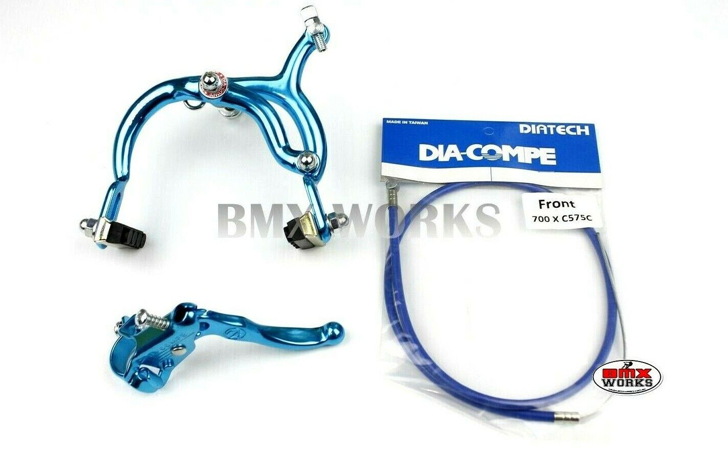 Dia-Compe Silver /& Black MX890 with MX121 Lever Package Old School BMX Tech 3