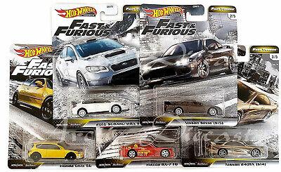Hot Wheels Premium 2020 - Fast & Furious Fast Tuner Set of 5 Silvia RX-7 240SX