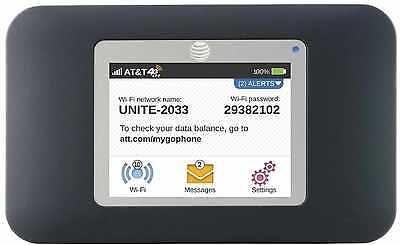 Unlocked Netgear Unite 770S 4G LTE Black Wifi Hotspot for worldwide GSM Networks