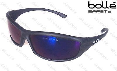 OCCHIALI DA SOLE UOMO DONNA BOLLE' SOLIS LENTI BLU LEGGERI 25 GR. LAVORO (Solis Sunglasses)