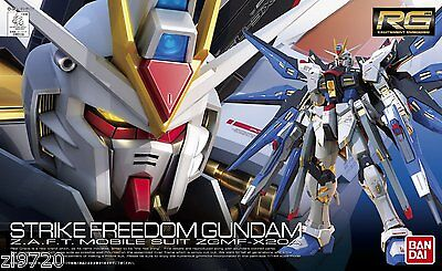 Gundam 1 144 Rg  14 Strike Freedom Z A F T Mobile Suit Zgmf X20a Model Kit