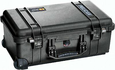 Pelican 1510 Case With Foam (Black)      Carry-On Case