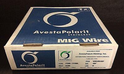 Avestapolarit Stainless Mig Wire 10 Box .030 Dia Type Er308er308l