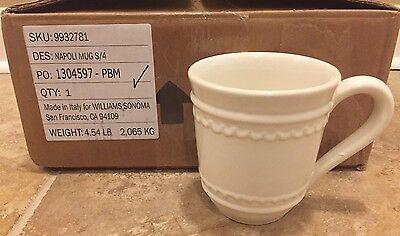 NEW 4PC Pottery Barn Napoli Mug Set (Napoli Mug)