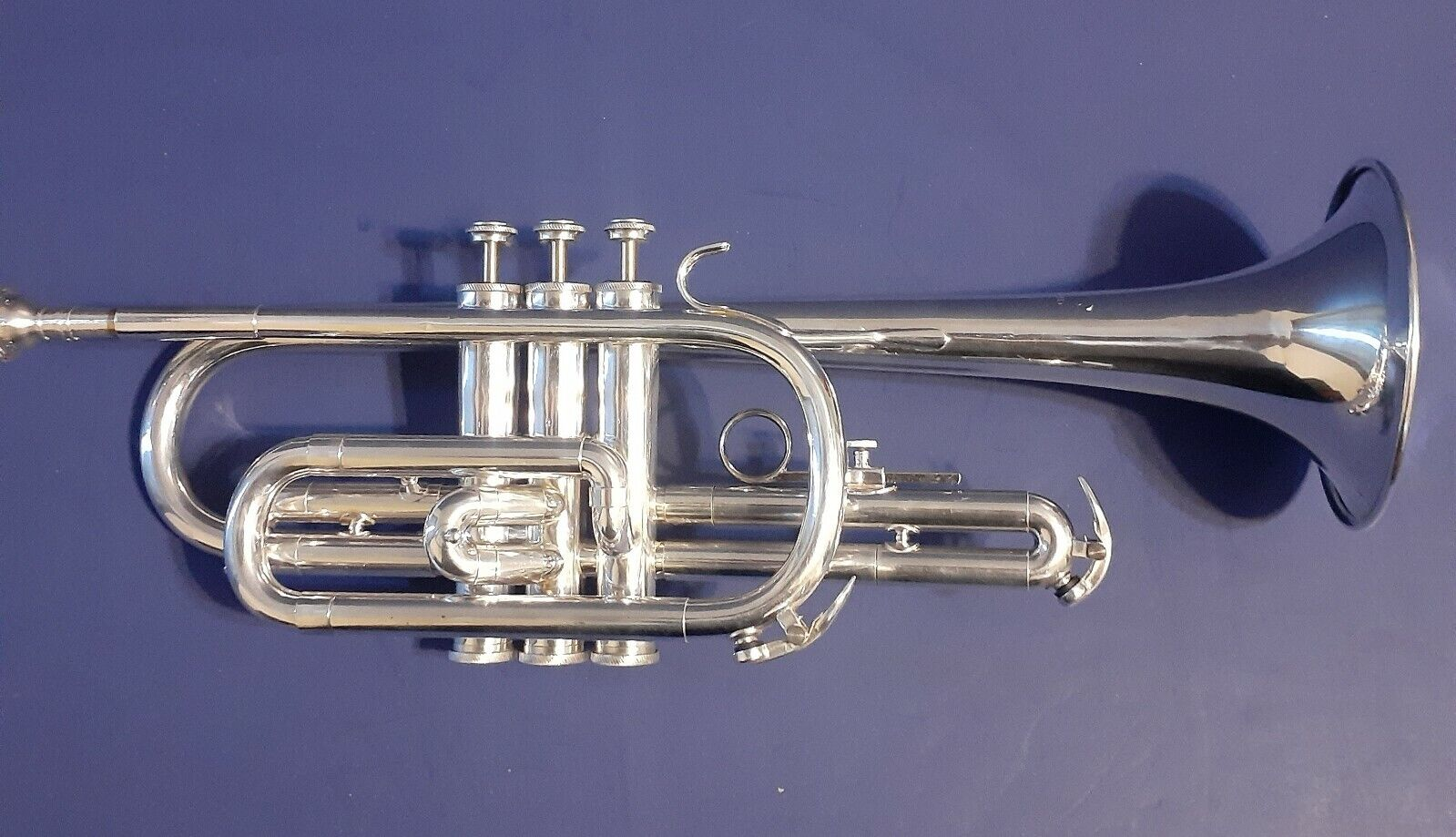 Vintage -Blessing Scholastic Cornet With Mouthpiece Case -  - $110.00
