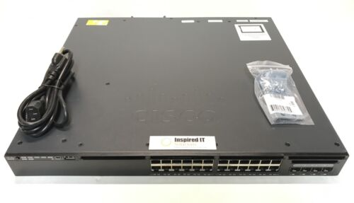 Ws-c3650-24ps-l - Cisco Catalyst 3650 24 Port Poe 4x1g Uplink Lan Base