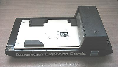 Vintage Bartizan Cm2010 Manual Credit Card Imprinter American Express Branded