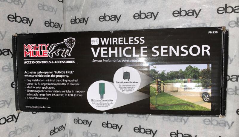 Mighty Mule FM130 Wireless  Vehicle Sensor Wireless Easy Installation Brand New