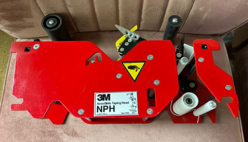 "New 3M Accuglide NPH 3"" Taping Head Type 11200  78-8137-7091-0"
