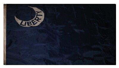 5x8 Ft Moultrie Liberty In Moon embroidered Nylon Flag 5'x8' Grommets