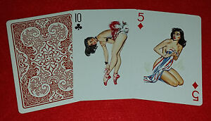 New Sexy Vintage Antique Pin Up Beauties 1950's Art Playing Cards Poker Deck