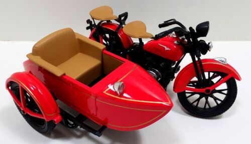 1993 LTD Edition Official Harley Davidson 1:12 1933 Motorcycle Sidecar Bank(RED)