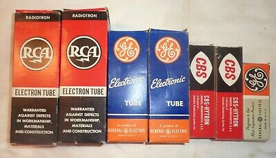 Vintage Vacuum Tubes RCA GE CBS lot for sale  Shipping to India