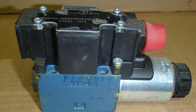 Mannesmann Rexroth Control Valve 4WE6Y61/EG24N9DK23L _ S043A-1014 _ S043A1014