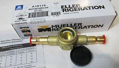 New Mueller A18115 Refrigeration Moisture Indicator 38 X 38
