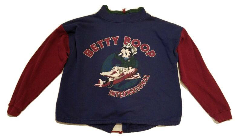 Vintage Betty Boop Sweatshirt size l/xl