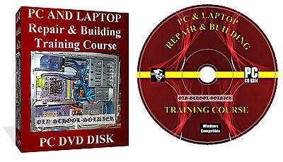 Laptop Repair course, Computer  Manuals, Training Video It Course 4x Disks