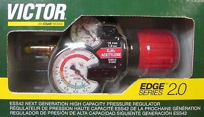 Victor Edge Series 2.0 Ess42 Acetylene Regulator Ess42 15 510 0781 3602