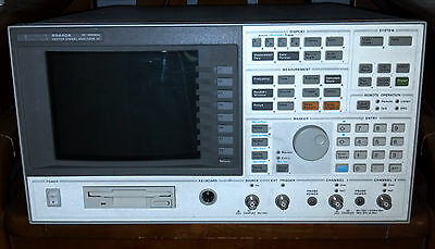 Hpagilent 89410a Vector Signal Analyzer - Dc-10 Mhz Opt Aya Ay9 Ufg Ayh