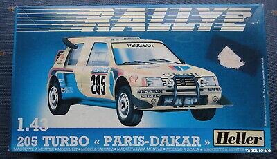 Heller  1/43  205 Turbo PARIS-DAKAR 80189