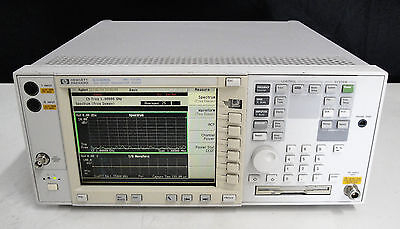 As-is - Agilent Hp E4406a Bacbaebahstd Vectorspectrum Signal Analyzer