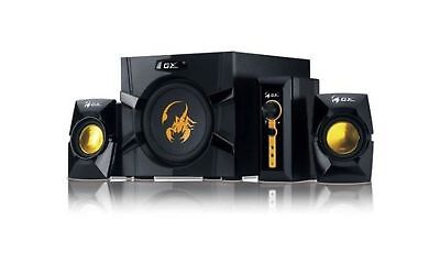 Genius GX-Gaming SW-G2.1 3000 with Two Input Jacks for PC/TV/DVD/Game ... NO TAX