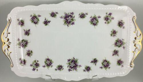 "Royal Albert Sweet Violets Sandwich tray 11 """