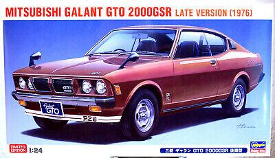 1976 Mitsubishi Colt Galant GTO 2000 GSR late Dodge Colt 1:24 Hasegawa 20400
