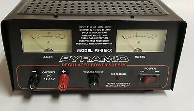 Pyramid Ps-36kx Regulated Power Supply - Tested