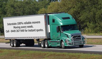 CHEAP INTERSTATE REMOVALISTS MELBOURNE TO SYDNEY BRISBANE